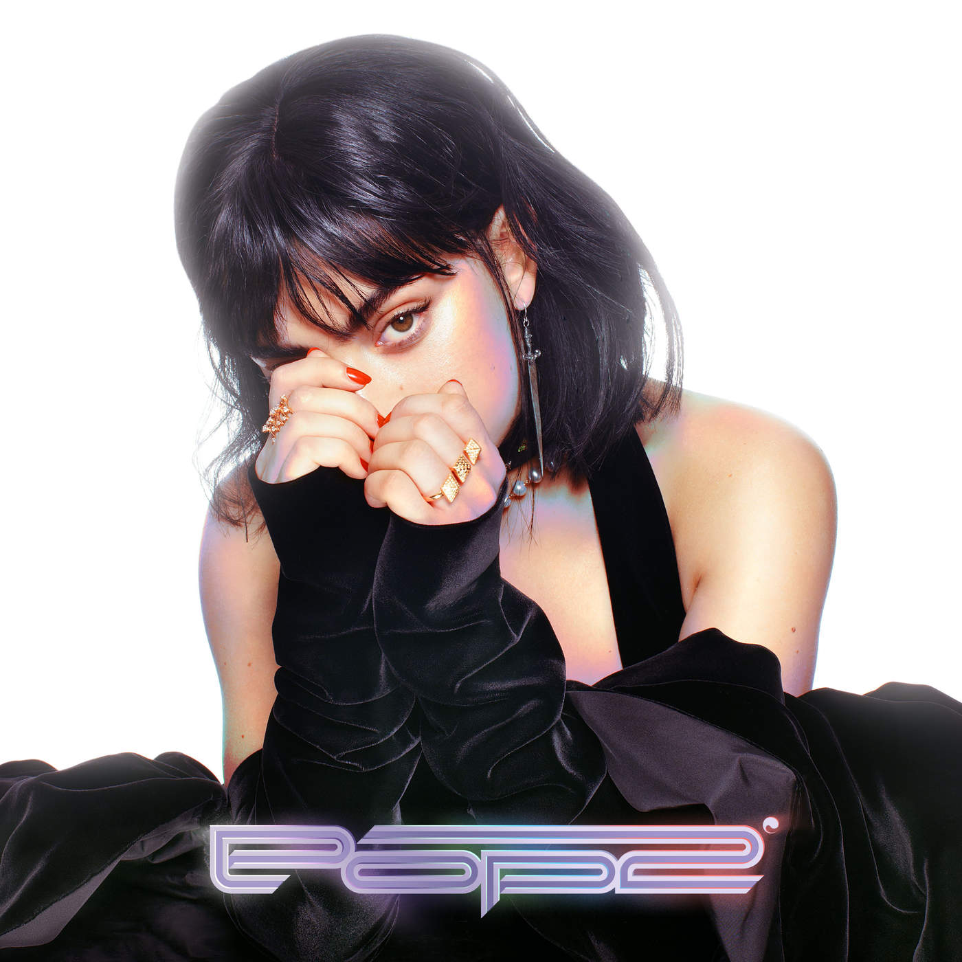 Charli XCX POP2 MIXTAPE COVER